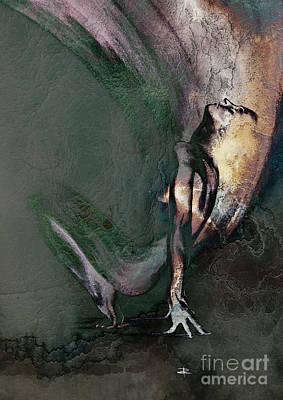 emergent II - textured Poster