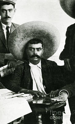Emiliano Zapata Poster by Science Source