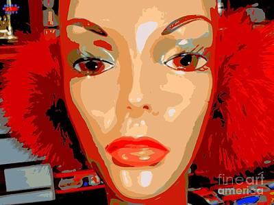 Emily In Earmuffs Poster by Ed Weidman