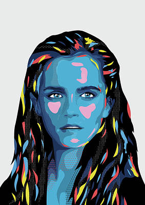 Emma Poster by Julien Missaire
