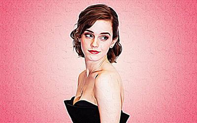 Emma Watson Poster by Iguanna Espinosa
