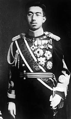 Emperor Hirohito, Of Japan, Portrait Poster by Everett
