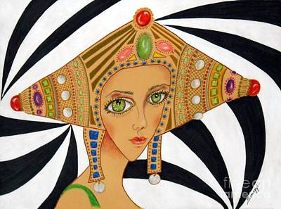 Empress Exotica -- Whimsical Exotic Woman Poster