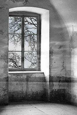 Poster featuring the photograph Emptiness by Munir Alawi
