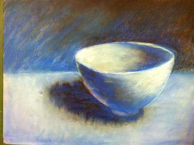 Empty Bowl Poster by Jeff Levitch