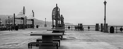 Empty Pier Poster