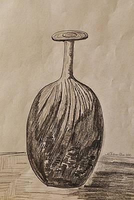 Empty Vase Poster by Felicia Tica