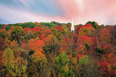 Enchanted Autumn Hillside - Thomasschoeller.photography  Poster by Thomas Schoeller