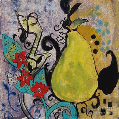 Enchanted Pear Poster