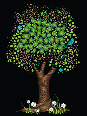 Enchanted Tree Poster by Serena King