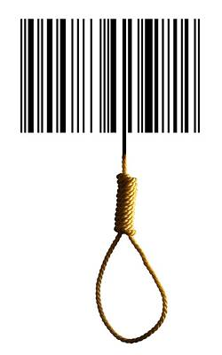 End Of Consumerism, Conceptual Image Poster by Victor De Schwanberg