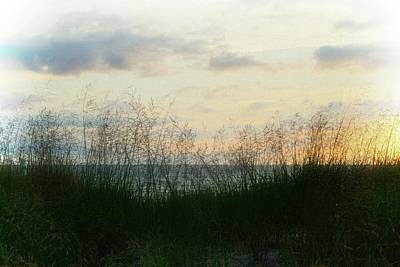 Poster featuring the photograph End Of Day At Pentwater by Michelle Calkins