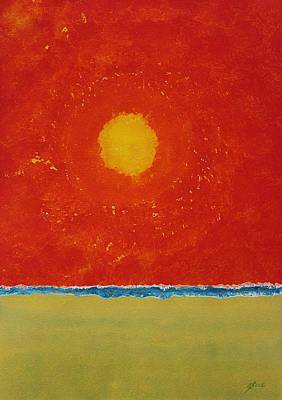 Endless Summer Original Painting Poster by Sol Luckman