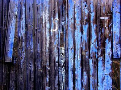 Enduring Blue Poster
