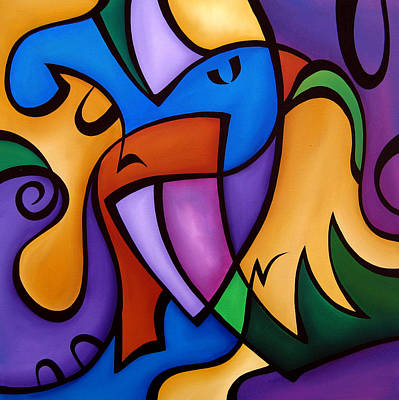 Energized - Abstract Art By Fidostudio Poster by Tom Fedro - Fidostudio