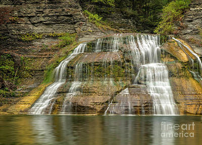Enfield Falls Tompkins County New York Poster