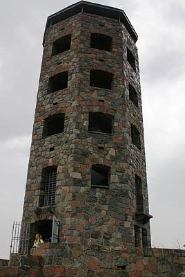 Poster featuring the photograph Enger Tower by Ron Read