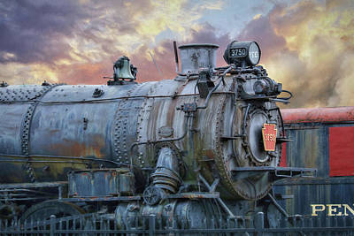 Poster featuring the photograph Engine 3750 by Lori Deiter