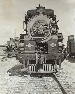 Poster featuring the photograph Engine 715 by Jeanne May