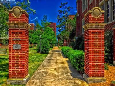 Engineers Court - University Of Oklahoma Poster