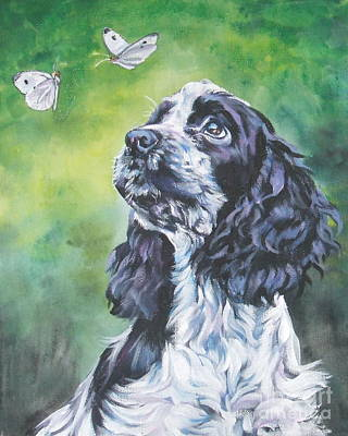 English Cocker Spaniel  Poster