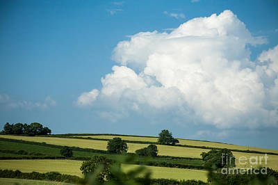 Poster featuring the photograph English Countryside In Summer by Jan Bickerton