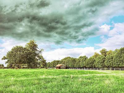 English Farmland Scene Poster by Tom Gowanlock