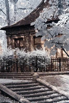 English Garden House Poster
