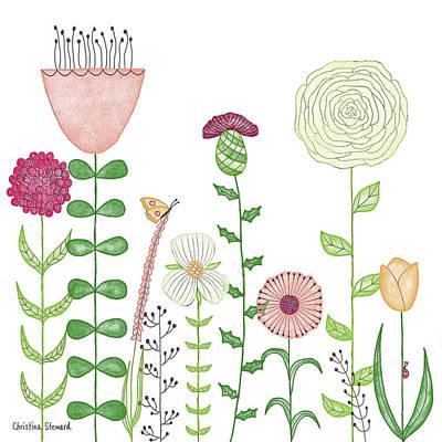 English Garden Poster by Christina Steward