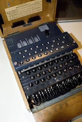 Enigma Code Machine Poster by Mark Williamson