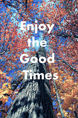 Enjoy The Good Time  Poster