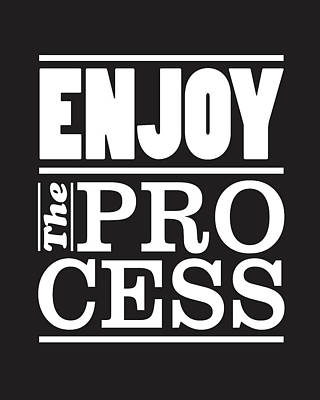 Enjoy The Process Poster