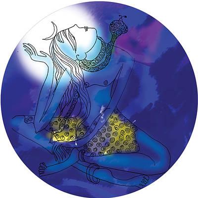 Enlightened Shiva  Poster