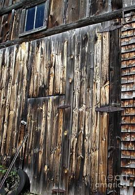 Enter The Barn Poster by Kerri Mortenson