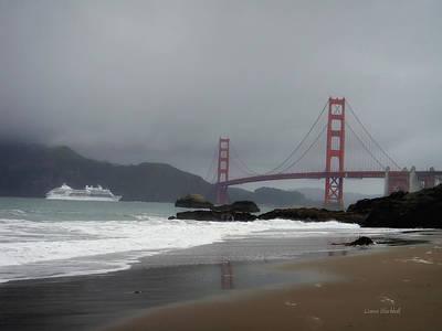 Entering The Golden Gate Poster