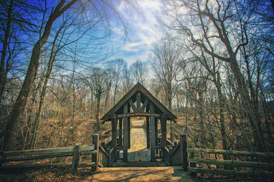 Entrance To Seven Bridges - Grant Park - South Milwaukee #3 Poster by Jennifer Rondinelli Reilly - Fine Art Photography