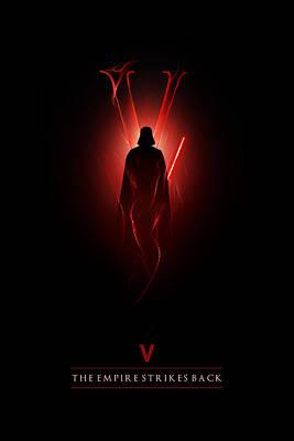 Episode V Poster by Alyn Spiller
