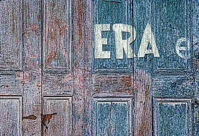 ERA Poster by Paul Wear