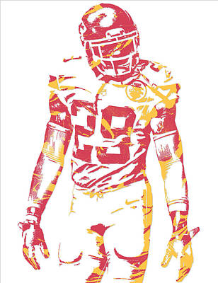 Eric Berry Kansas City Chiefs Pixel Art Poster