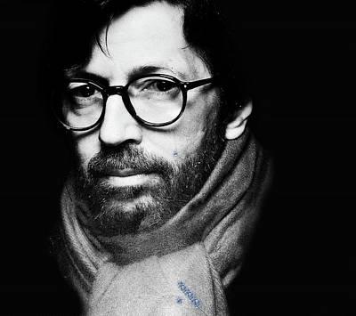 Eric Clapton Poster by Allen Beilschmidt