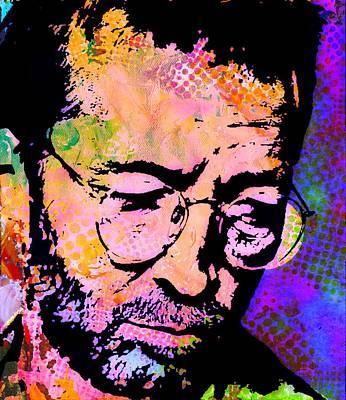 Eric Clapton Poster by Otis Porritt