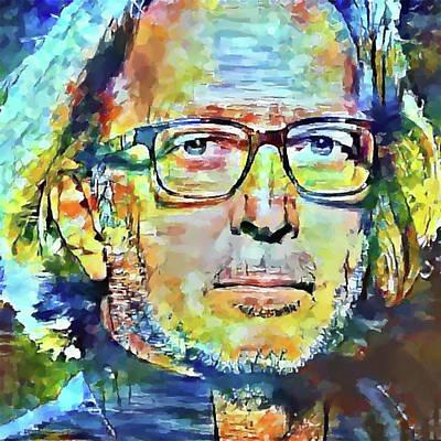 Eric Clapton Portrait Poster