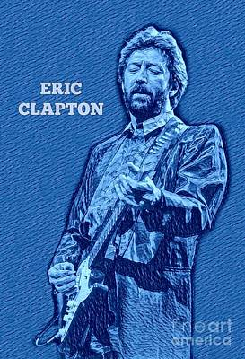 Eric Clapton Poster Poster