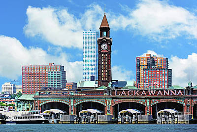 Erie Lackawanna Hoboken Terminal Nj Poster