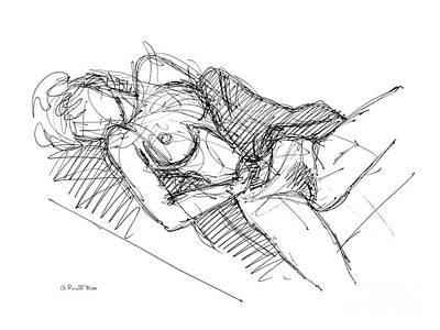 Erotic Art Drawings 7 Poster