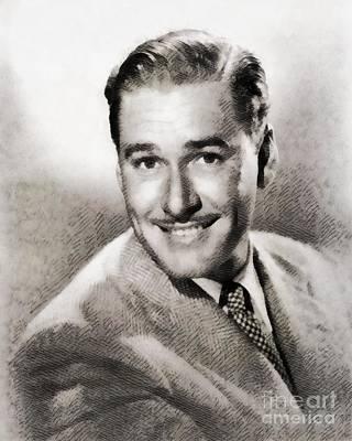 Errol Flynn, Hollywood Legend By John Springfield Poster