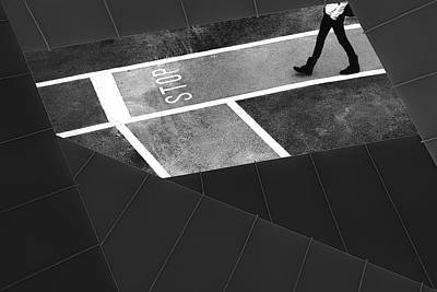 Escape Plan Poster by Paulo Abrantes