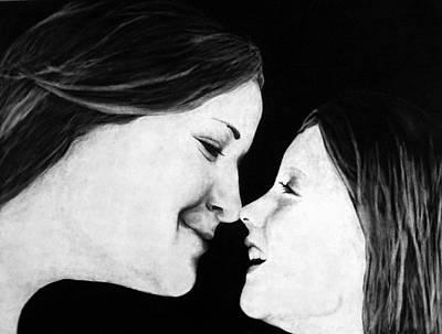 Eskimo Kisses Poster by Corina Bishop