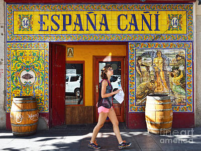 Espana Cani  Poster by RicardMN Photography