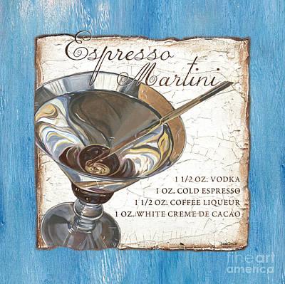 Espresso Martini Poster by Debbie DeWitt